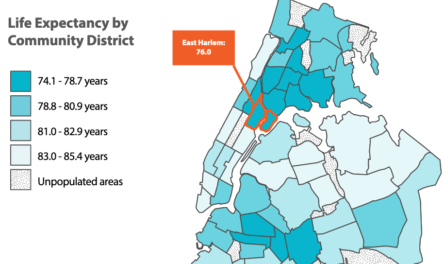 What is Killing People Who Live in Harlem?